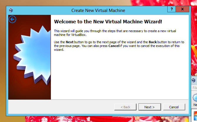 Create New Virtual Machine to Install Windows 8