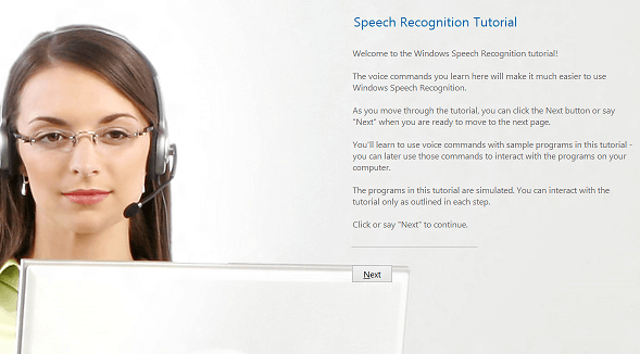 Windows 8 Speech Recognition Tutorial