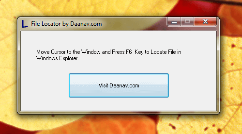File Locator to Locate Files in Windows Explorer