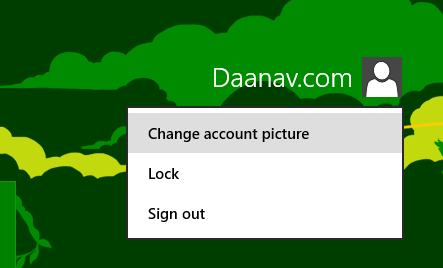 Change Account Picture Windows 8