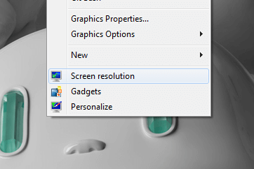Screen Resolution Shortcut On Desktop