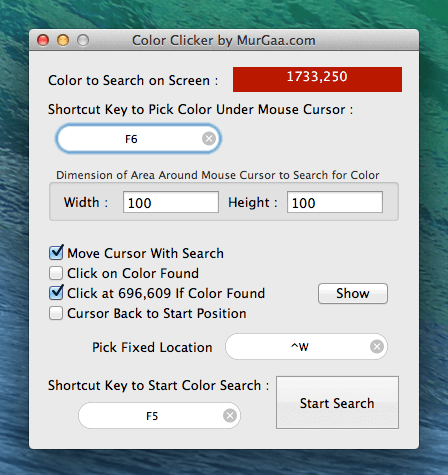 Color Clicker Mac
