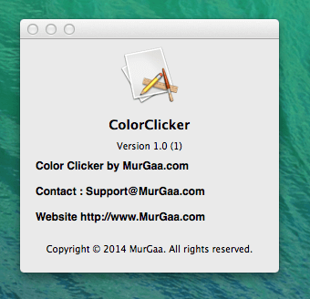 Color Clicker for Mac