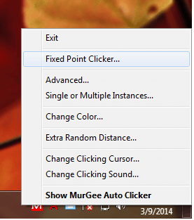 Launch Fixed Point Clicker