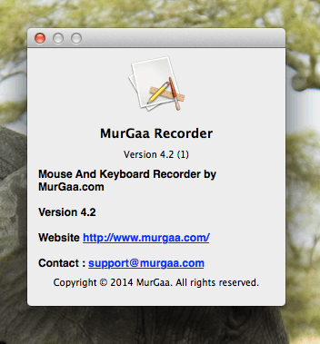 Mouse and Keyboard Recorder with Playback for Macintosh