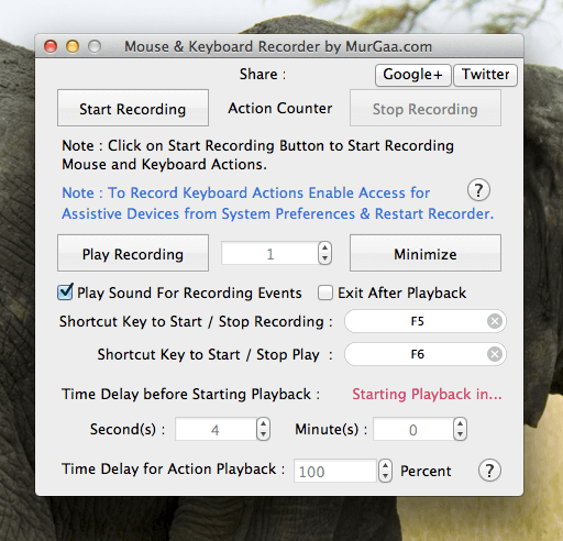 Record and Playback Keystrokes on Mac