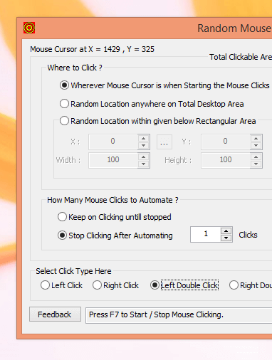 Double Clicker to do Double Click with Keyboard Shortcut
