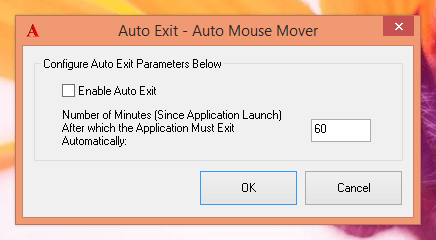 Automatically Stop Mouse Movements
