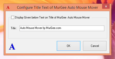 Configure Title Text of Mouse Mover