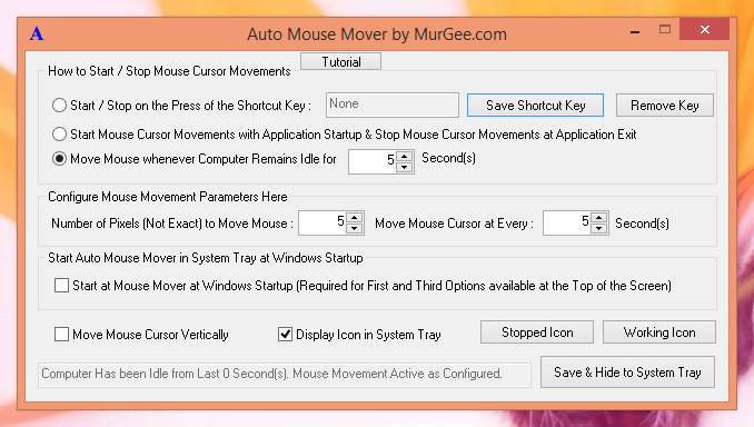 Mouse Mover Software