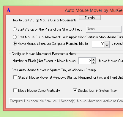 Mouse Mover Software as Alternative to Mouse Mover USB
