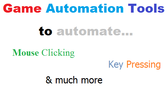 Game Automation Tools